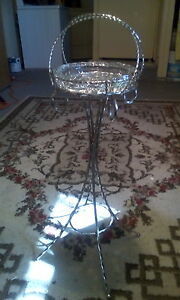 Vintage antique ashtray in Stand