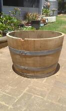 1/2 wine barrel Dover Gardens Marion Area Preview