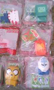 ADVENTURE TIME HAPPY MEAL TOYS Macquarie Fields Campbelltown Area Preview