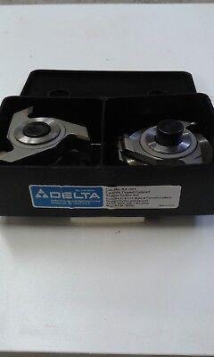 Deltarockwell Carbide Shaper Cutter Set 43-021 Full Set Of Bits Nos