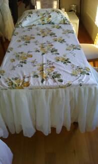 Bedspread - Original Sanderson Cotton Macquarie Belconnen Area Preview