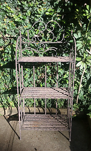 Decorative metal plant stand garden shelf Bidwill Blacktown Area Preview