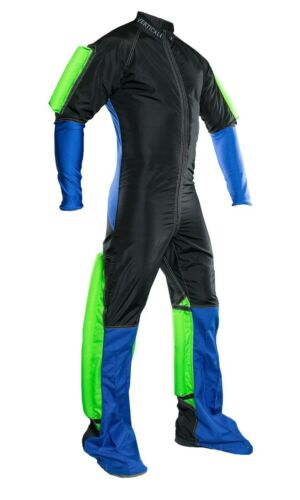 Skydiving Jump Suit Slim Fit Suit with grippers.