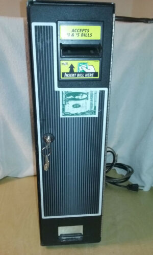 $1,$2 & $5 Dollar Bill Changer,CM-222/CM-100  Complete Working Unit w/ new lock