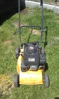 Lawn mower Lazer Cut