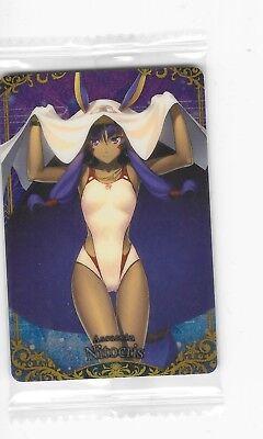Fate Grand Order FGO Wafer Card N10 Scathach Assasin
