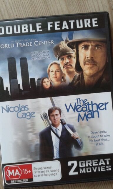 World Trade Center + The Weather Man - DVD double - NIcolas Cage