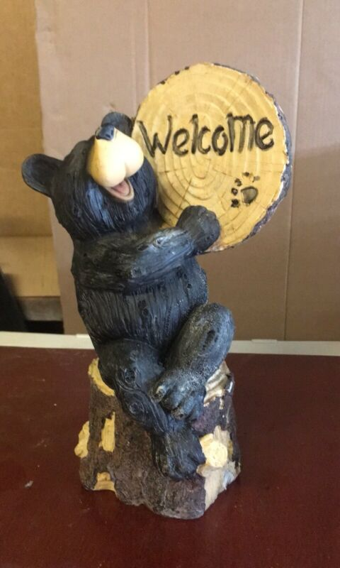 The Statue Bear Welcome