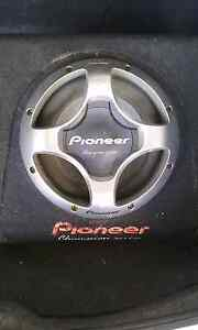I have a 12inch Pioneer Sub Boxed and a Fusion Amp For Sale! Australia Preview
