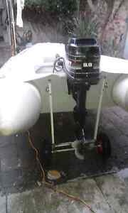 Reef inflatable boat 3.2 with Mercury 9.9 Albert Park Port Phillip Preview
