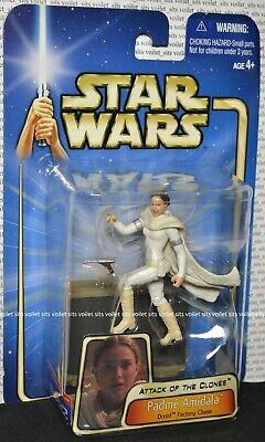 "Hasbro Star Wars Attack of The Clones 3.75"" Figure Padmé Amidala (Droid Factory)"