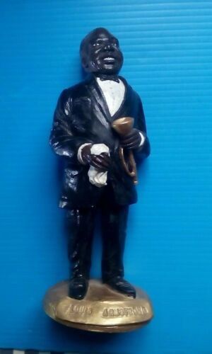 Louis Armstrong New Orleans Musician Figurine - Hand Painted