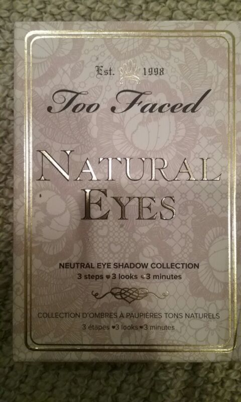 Too Faced Natural eyes neutral eyeshadow collection