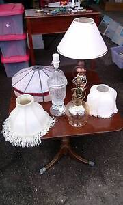 Various Table Lamps, Bases & Shades Magill Campbelltown Area Preview