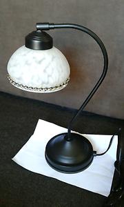 Table Lamp, Black Carrara Gold Coast City Preview