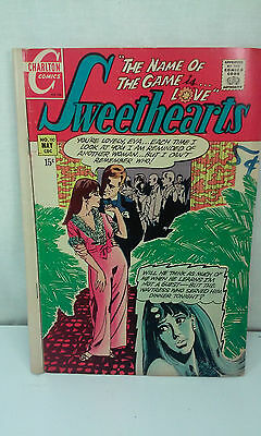 MAY 1970 SWEETHEARTS THE NAME OF THE GAME IS LOVE NO 110 BRONZE AGE COMIC