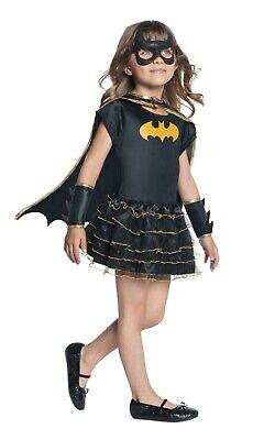 Rubies 3887058  Batgirl Kinder Kostüm,  S - M - L , HELDIN in Glitzer und (Rubies Glitzer Kostüme)