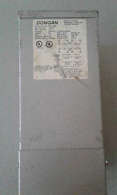Dongan 1.5 Kva 1 Phase Pri 120240 Volt Sec 1632 Volt 3r Enclosed Transformer