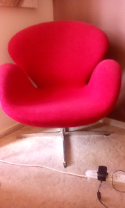 2 red swan chairs Bonnyrigg Heights Fairfield Area Preview