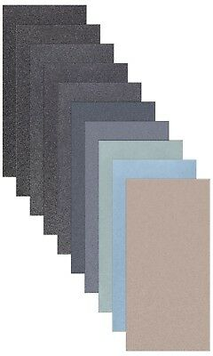 Schleifpapier STREIFEN wasserfest 21x5 cm Trocken Nass Schleif Papier Sandpapier