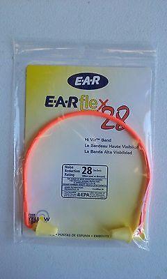 3M E-A-Rflex 28 Semi-Aural Hearing Protector, NRR 28 - 3201000 Hi Viz band  ()