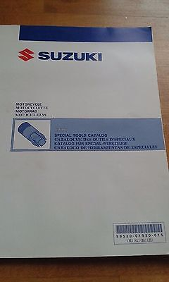 SUZUKI MOTORCYCLE SPECIAL TOOLS CATALOGUE CATALOG 1993 99530-01930-015