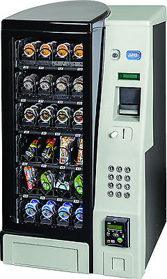 A M S Table Top Snack Vending Machine 24 Select Wcoin Bill Acceptor New