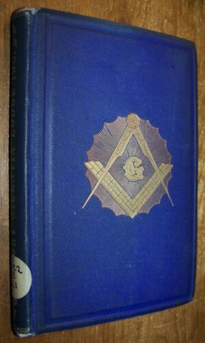 1869 Antique History of Silentia Masonic Lodge NYC New York Roster Book F&AM