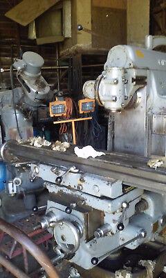 Cincinnati 2 Ml Universal Mill With Swivel Table And Vertical Head