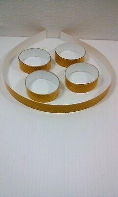 5 Rolls Yellow Reflective Vinyl Safety Tape Approximately 24 X 1 Peel Stick