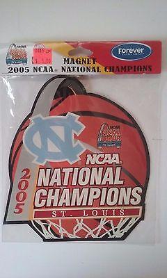 North Carolina Tar Heels 2005 NCAA National Champions Large Magnet NIP ACC 2005 North Carolina Tar Heels