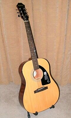 Epiphone Limited Edition AJ-100 Acoustic Guitar Natural