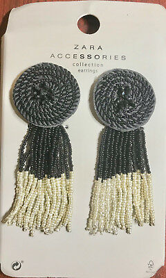 Zara Accessories Collection - Earrings NWT BEAUTIFUL PIECE OF ART