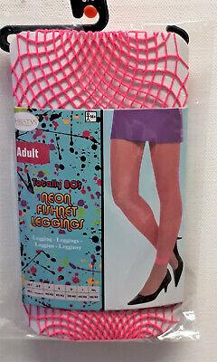Amscan Neon Fischnetz Leggins 80er Party Karneval 38/40 Fishnet Leggings (Neon Fischnetz Leggings)