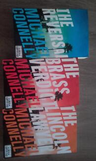 Michael Connelly books - group of 3