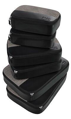 6pc Lightweight Travel Packing Cubes