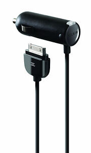 BELKIN-Caricabatteria-da-auto-per-iPhone-4-4S-3-3GS-IPAD-3-2-1S-amp-iPod-f8z184