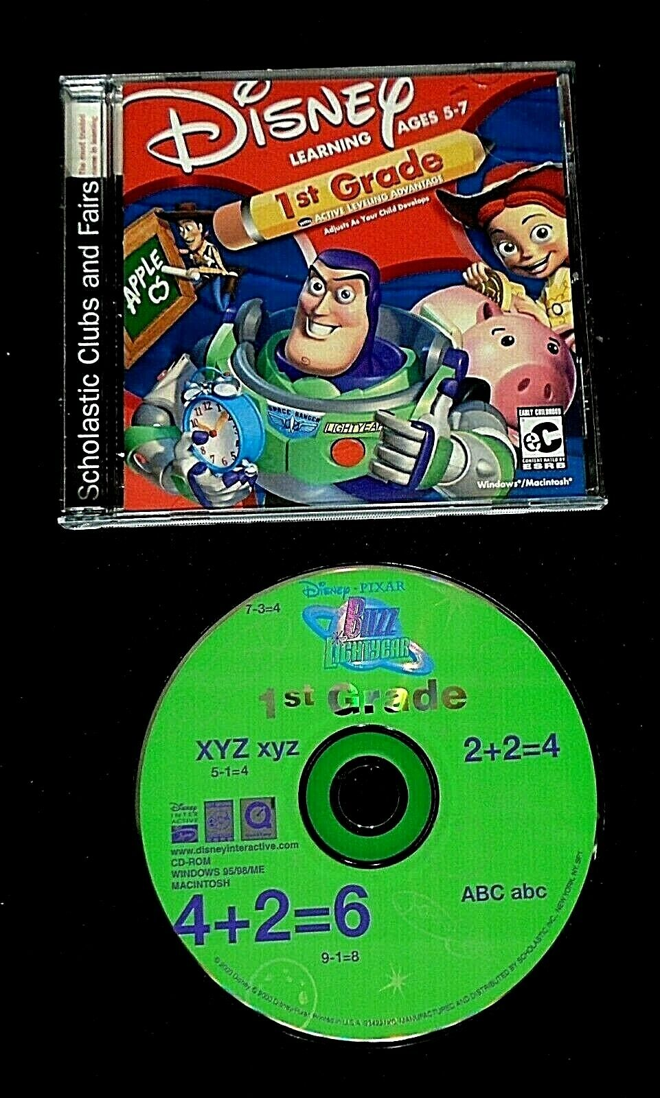 """BUZZ LIGHTYEAR -- FIRST GRADE"" - WINDOWS / MAC - COMPLETE"