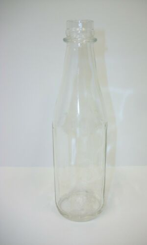 Vintage Ball Glass Ketchup Bottle