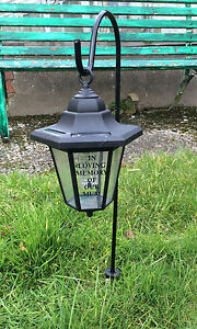 Solar grave lanterns