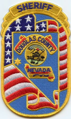 DOUGLAS COUNTY NEVADA NV colorful SHERIFF POLICE PATCH