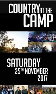 Country at the Camp- Branxton NSW 2X tickets plus camping