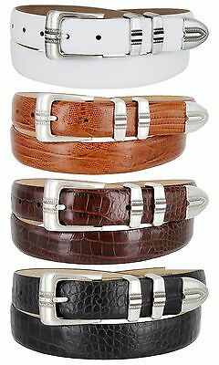 Купить Unbranded - Kaymen Italian Calfskin Leather Designer Dress Golf Belts for Men 1-1/8 Wide