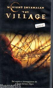 The-Village-2004-VHS-Touchstone-William-Hurt-Sigourney-Weaver