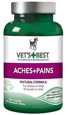 Vet's Best Aspirin Free Aches and Pains Dog Supplements Natural Formula …