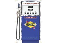 SUNOCO GAS PUMP WAYNE 511 BLEND O MATIC STATION REPLICA BANNER SIGN ART 3/' X 5/'