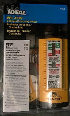 Ideal Vol-con Voltagecontinuity Tester 61-076