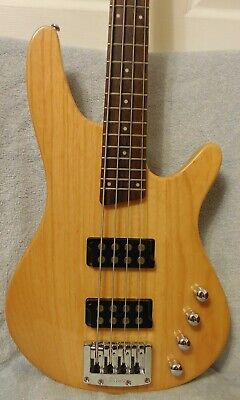 Ibanez SRX350 Natural Finish Active Electronics MM Style Pickups Good Used Cond for sale  Leesburg