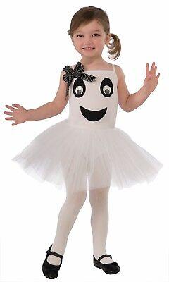 Ballerina Toddler Costume (Toddler Ghost Boo-Tiful Ballerina Costume)