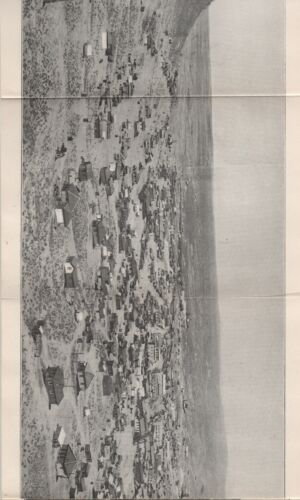 """1905 Nevada Booklet """" Tonopah and her Mines """"  Great Panoramic Photo and Views"""